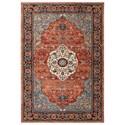 Karastan Rugs Spice Market 2'x3' Rectangle Ornamental Area Rug - Item Number: 90661 90097 024036