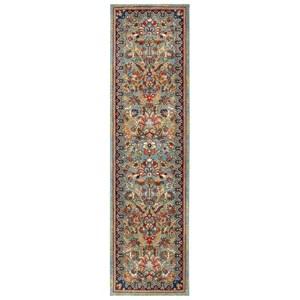 """Karastan Rugs Spice Market 2' 4""""x80' Ornamental Roll Runner"""