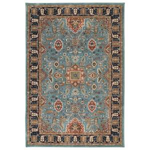 Karastan Rugs Spice Market 9'6x12'11 Deir Aquamarine Rug