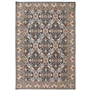 Karastan Rugs Spice Market 9'6x12'11 Han Sapphire Rug