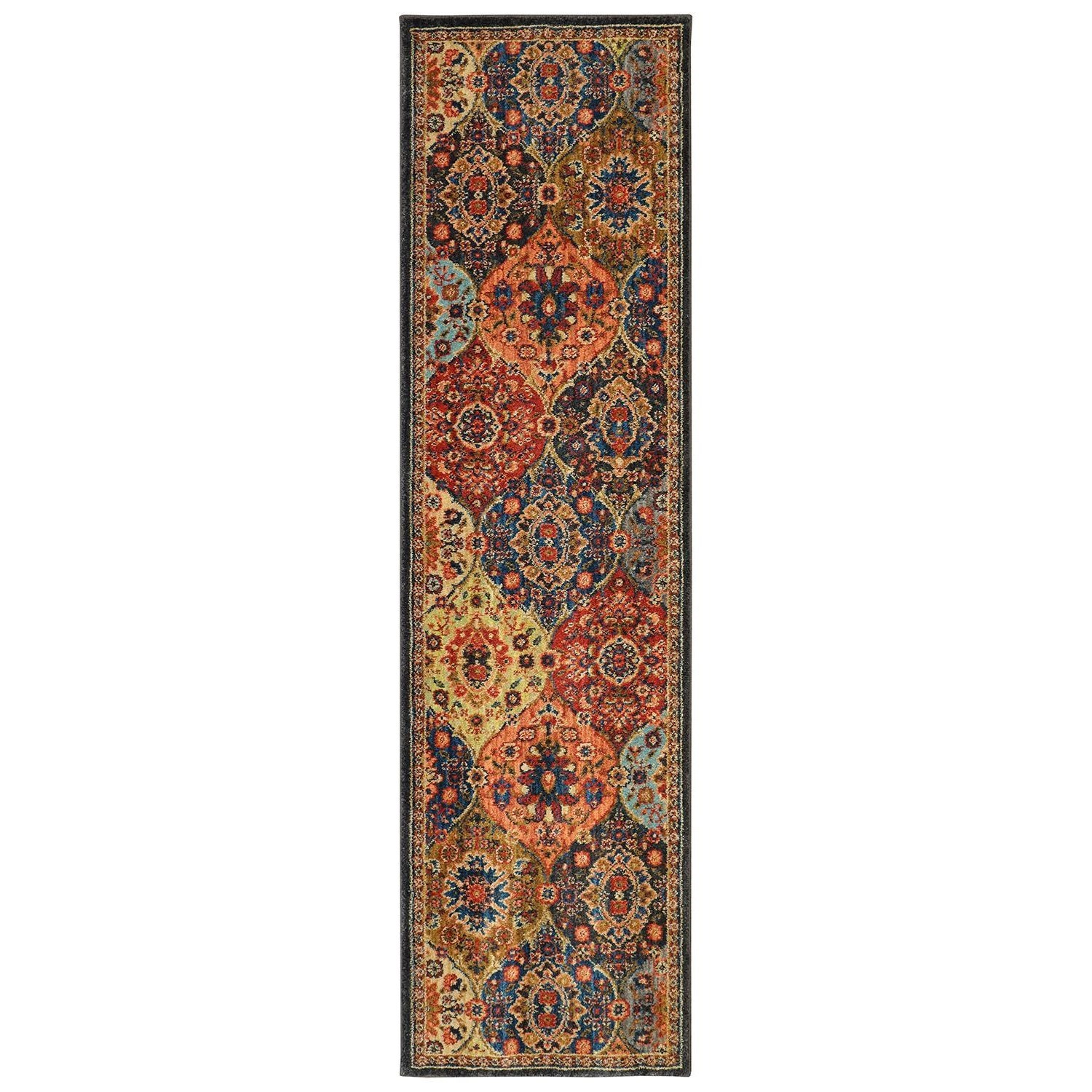 2'x3' Rectangle Ornamental Area Rug