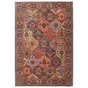 Karastan Rugs Spice Market 8'x11' Levant Multi Rug - Item Number: 90669 90097 096132