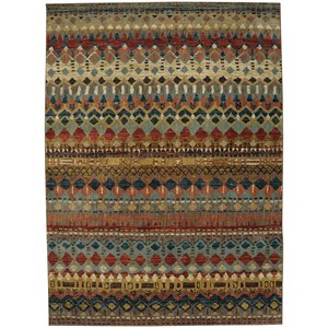"Karastan Rugs Spice Market 5' 3""x7' 10"" Rectangle Geometric Area Rug"