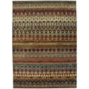 "Karastan Rugs Spice Market 5' 3""x7' 10"" Rectangle Geometric Area Rug - Item Number: 90932 80129 063094"