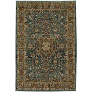 "Karastan Rugs Spice Market 9' 6""x12' 11"" Rectangle Ornamental Area Rug"