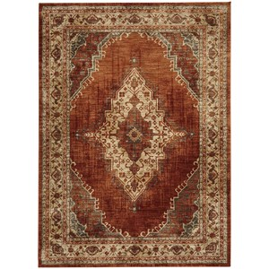 "Karastan Rugs Spice Market 3' 5""x5' 5"" Rectangle Ornamental Area Rug"