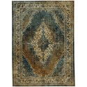 Karastan Rugs Spice Market 8'x11' Rectangle Ornamental Area Rug - Item Number: 90935 50123 096132