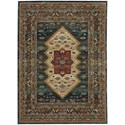 "Karastan Rugs Spice Market 2' 1""x7' 10"" Ornamental Runner - Item Number: 90937 50130 025094"