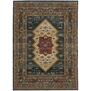 "Karastan Rugs Spice Market 9' 6""x12' 11"" Rectangle Ornamental Area Rug"
