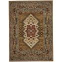 Karastan Rugs Spice Market 8'x11' Rectangle Ornamental Area Rug - Item Number: 90937 80153 096132