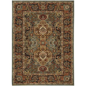 "Karastan Rugs Spice Market 5' 3""x7' 10"" Rectangle Ornamental Area Rug"