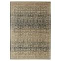 Karastan Rugs Titanium 9'4x12'9 Verta Gray Rug - Item Number: 39400 16001 112153
