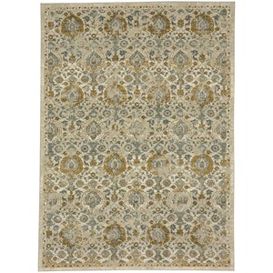Karastan Rugs Touchstone 8'x11' Rectangle Ornamental Area Rug