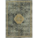 "Karastan Rugs Touchstone 3' 6""x5' 6"" Rectangle Ornamental Area Rug - Item Number: 90940 50133 042066"