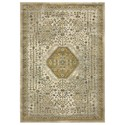 "Karastan Rugs Touchstone 5' 3""x7' 10"" Rectangle Ornamental Area Rug - Item Number: 90940 70031 063094"