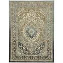 Karastan Rugs Touchstone 8'x11' Rectangle Ornamental Area Rug - Item Number: 90941 50097 096132