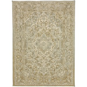 "Karastan Rugs Touchstone 5' 3""x7' 10"" Rectangle Ornamental Area Rug"