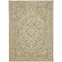 "Karastan Rugs Touchstone 5' 3""x7' 10"" Rectangle Ornamental Area Rug - Item Number: 90941 90075 063094"