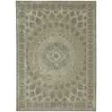 Karastan Rugs Touchstone 8'x11' Rectangle Ornamental Area Rug - Item Number: 90942 90075 096132