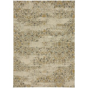 "Karastan Rugs Touchstone 9' 6""x12' 11"" Rectangle Floral Area Rug"