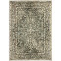 "Karastan Rugs Touchstone 5' 3""x7' 10"" Rectangle Ornamental Area Rug - Item Number: 90947 70031 063094"
