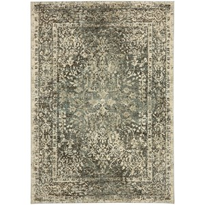 "Karastan Rugs Touchstone 9' 6""x12' 11"" Rectangle Ornamental Area Rug"