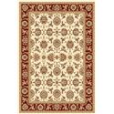 Kas Chateau 5.3 x 7.7 Area Rug : Red - Item Number: 939115730