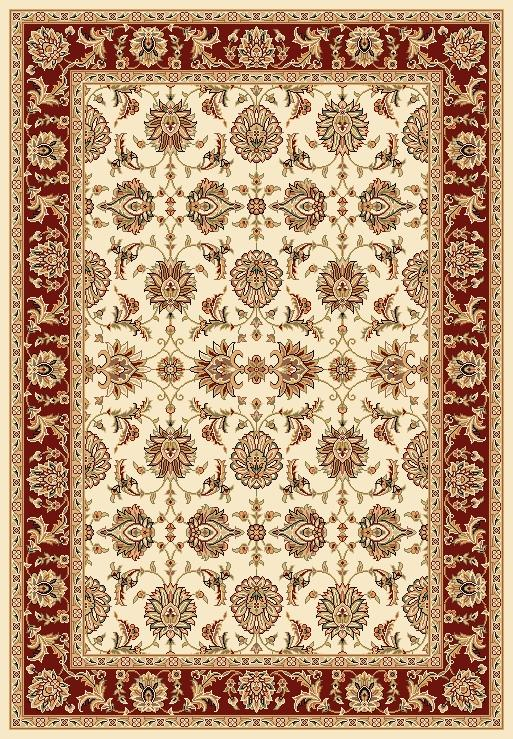 Kas Chateau 7.7 x 10.10 Area Rug : Red - Item Number: 939115754