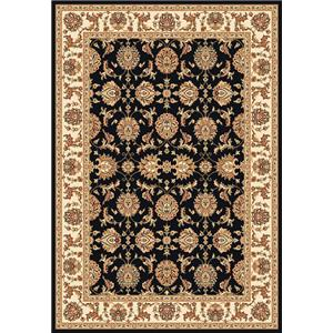Kas Chateau 5.3 x 7.7 Area Rug : Black