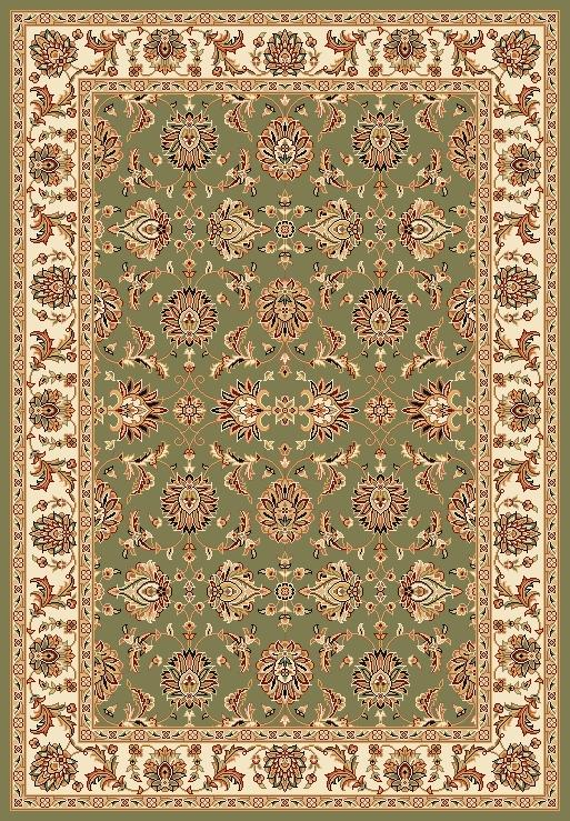 Kas Chateau 3.3 x 4.11 Area Rug : Green - Item Number: 939115526