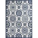 "Kas Allure 6'7"" x 9'6"" Rug - Item Number: ALU408267X96"