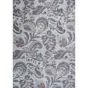 "Kas Allure 6'7"" X 9'6"" Grey Tuscany Area Rug - Item Number: ALU408367X96"