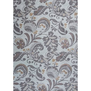 "7'7"" X 10'10"" Grey Tuscany Area Rug"