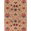 "Kas Anise 2'3"" X 3'9"" Beige Tapestry Area Rug - Item Number: ANI243127X45"