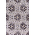 "Kas Anise 5' X 7'6"" Grey Valencia Area Rug - Item Number: ANI24335X76"