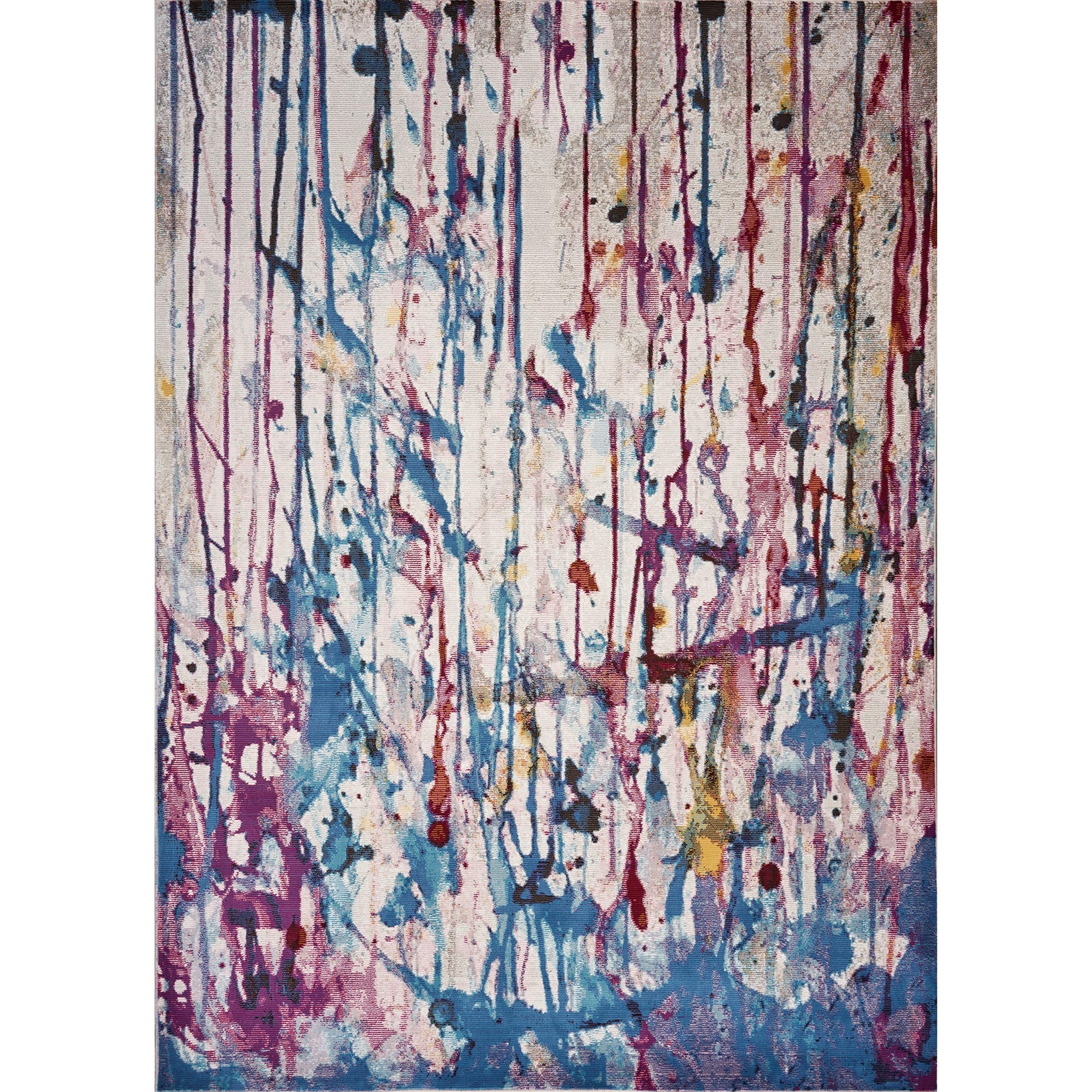 Arte 5' x 7' Jewel Trendsetter Rug by Kas at Darvin Furniture