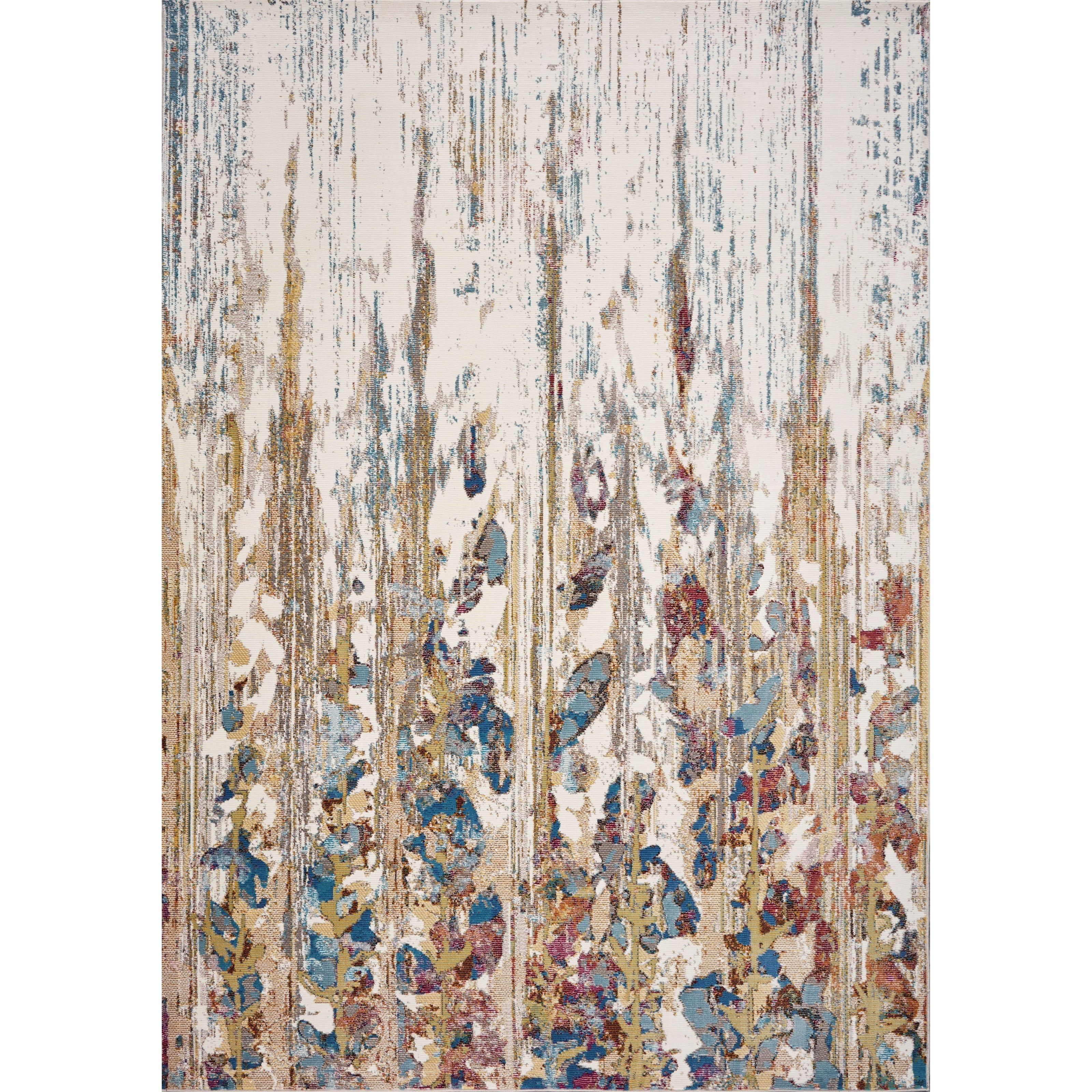 Arte 5' x 7' Ivory Gramercy Rug by Kas at Darvin Furniture