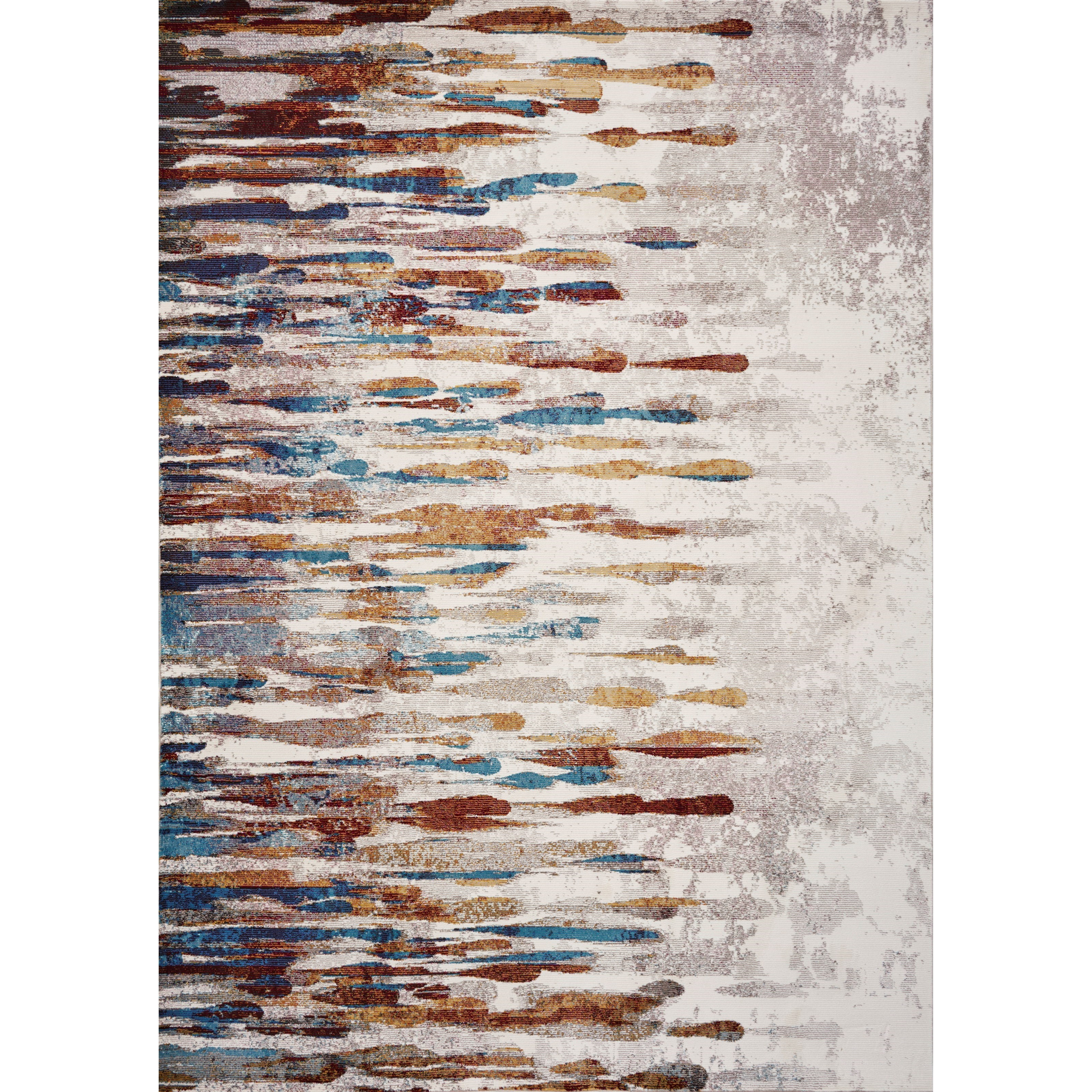 "Arte 9' x 11'9"" Ivory Tribeca Rug by Kas at Zak's Home"