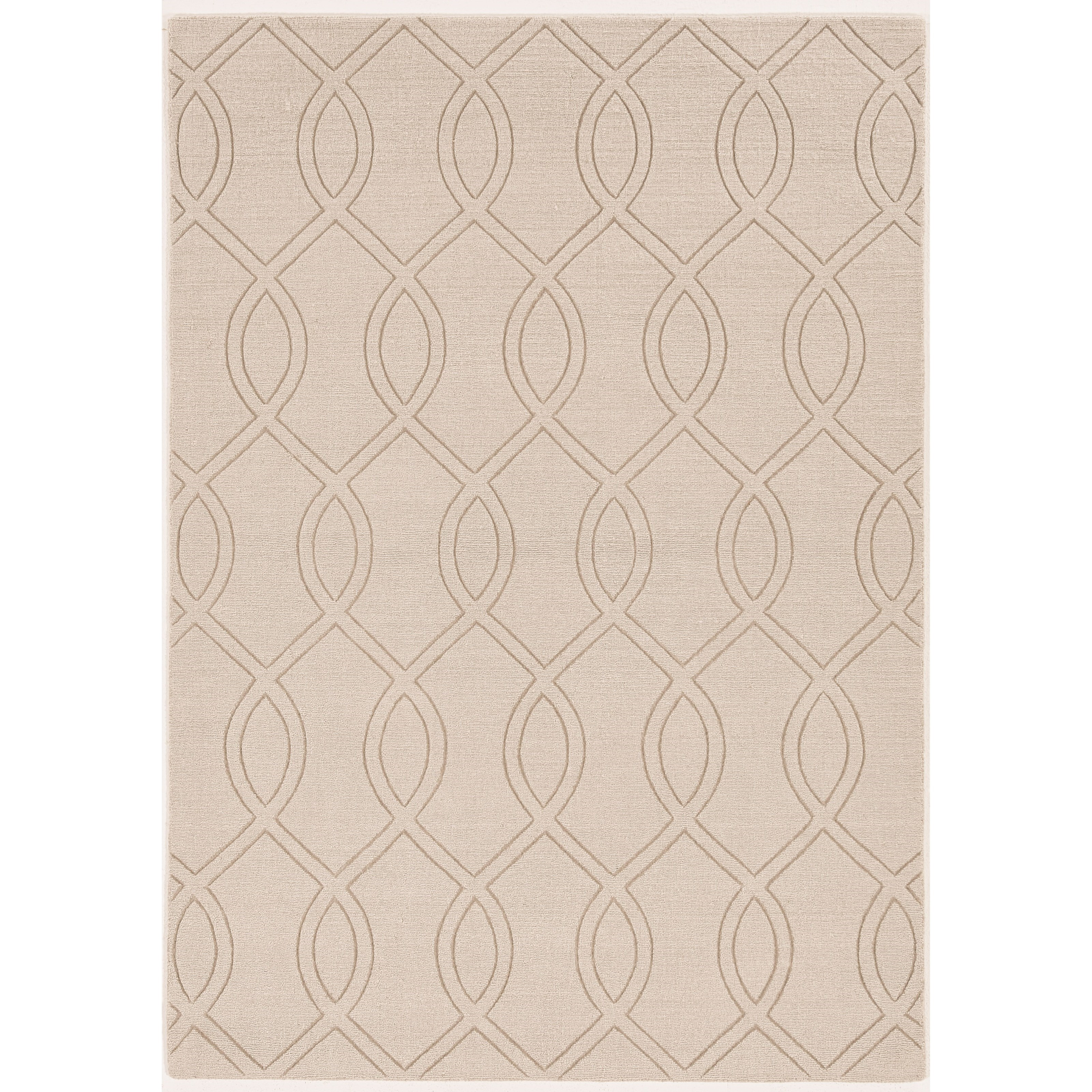 "Avery 7'6"" x 9'6"" Ivory Ellison Rug by Kas at Darvin Furniture"