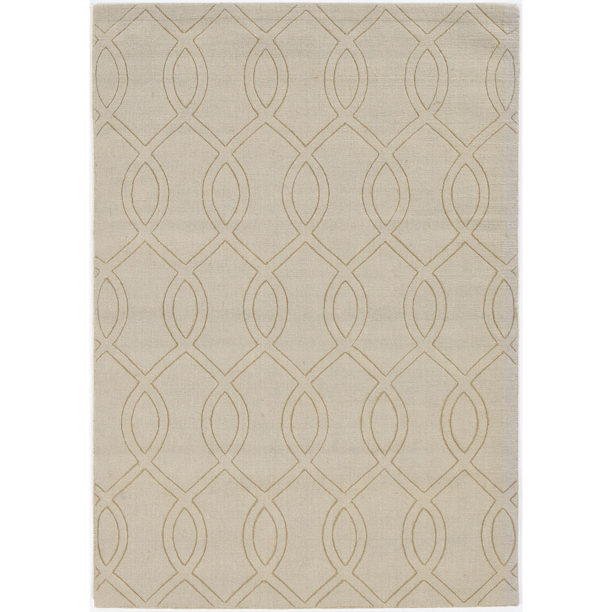 "Avery 7'6"" x 9'6"" Beige Ellison Rug by Kas at Darvin Furniture"