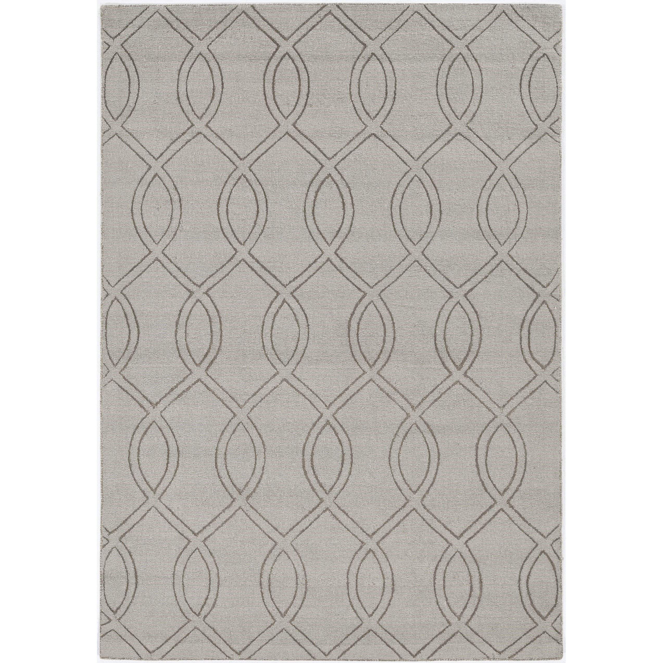 "Avery 7'6"" x 9'6"" Taupe Ellison Rug by Kas at Darvin Furniture"