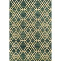 "Kas Barcelona 7'7"" X 5'3"" Area Rug - Item Number: BAR447153X77"