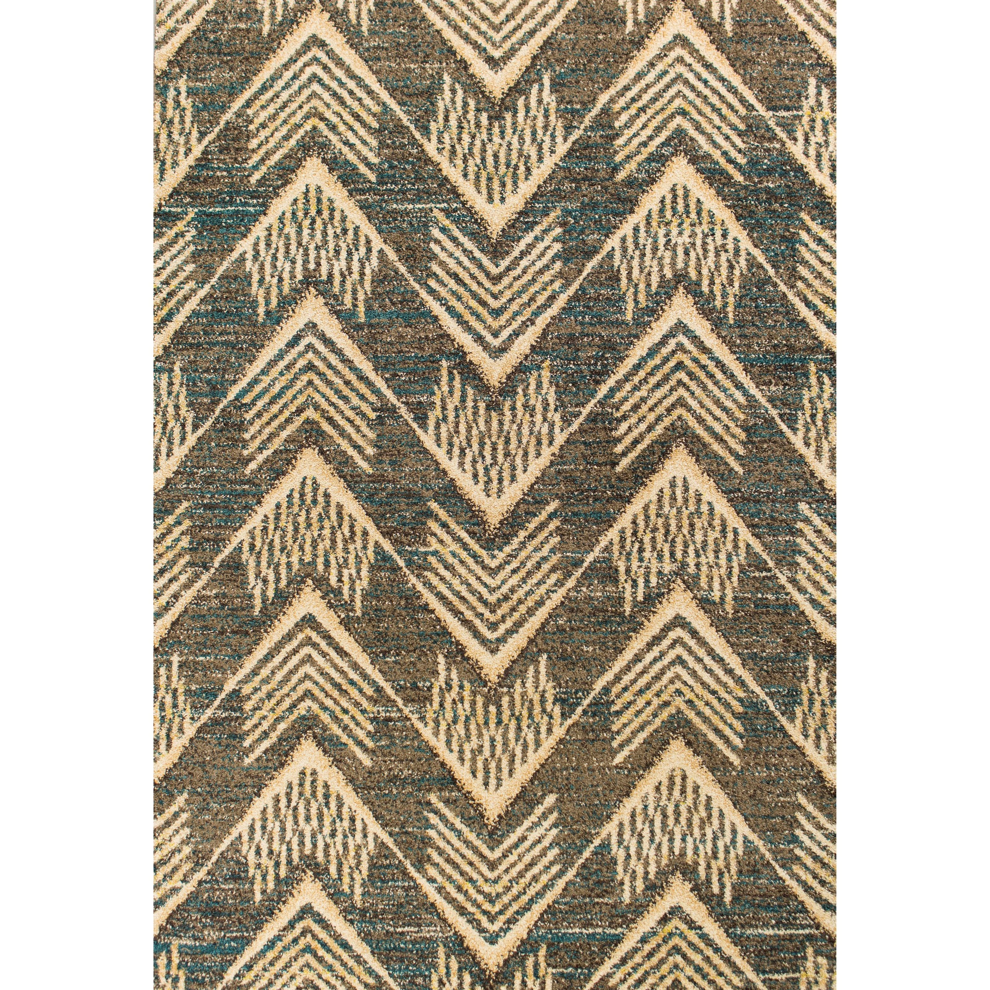 "Barcelona 4'11"" X 2'7"" Area Rug by Kas at Zak's Home"