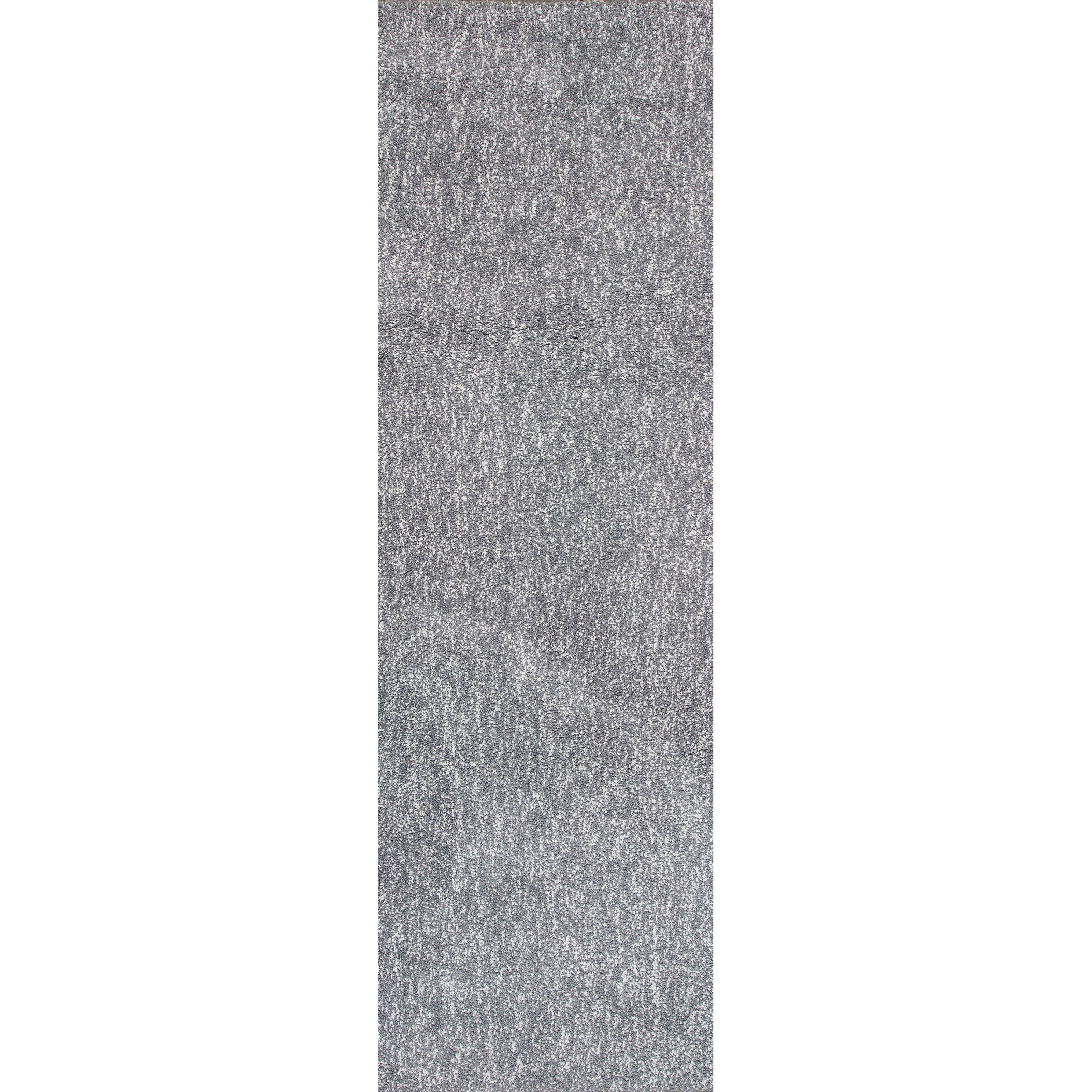 "2'3"" X 7'6"" Grey Heather Shag Area Rug"