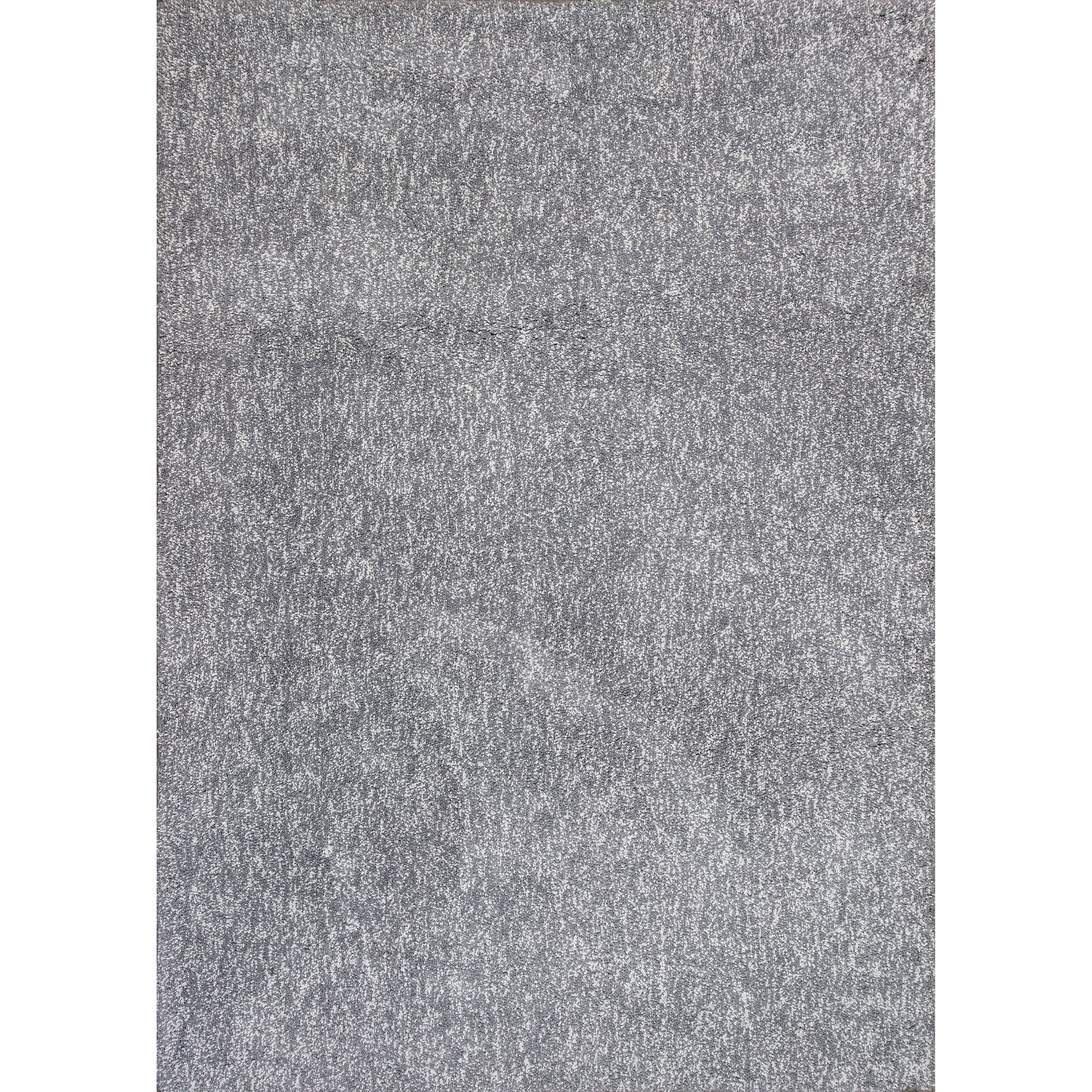 """Bliss 2'3"""" X 3'9"""" Grey Heather Shag Area Rug by Kas at Zak's Home"""