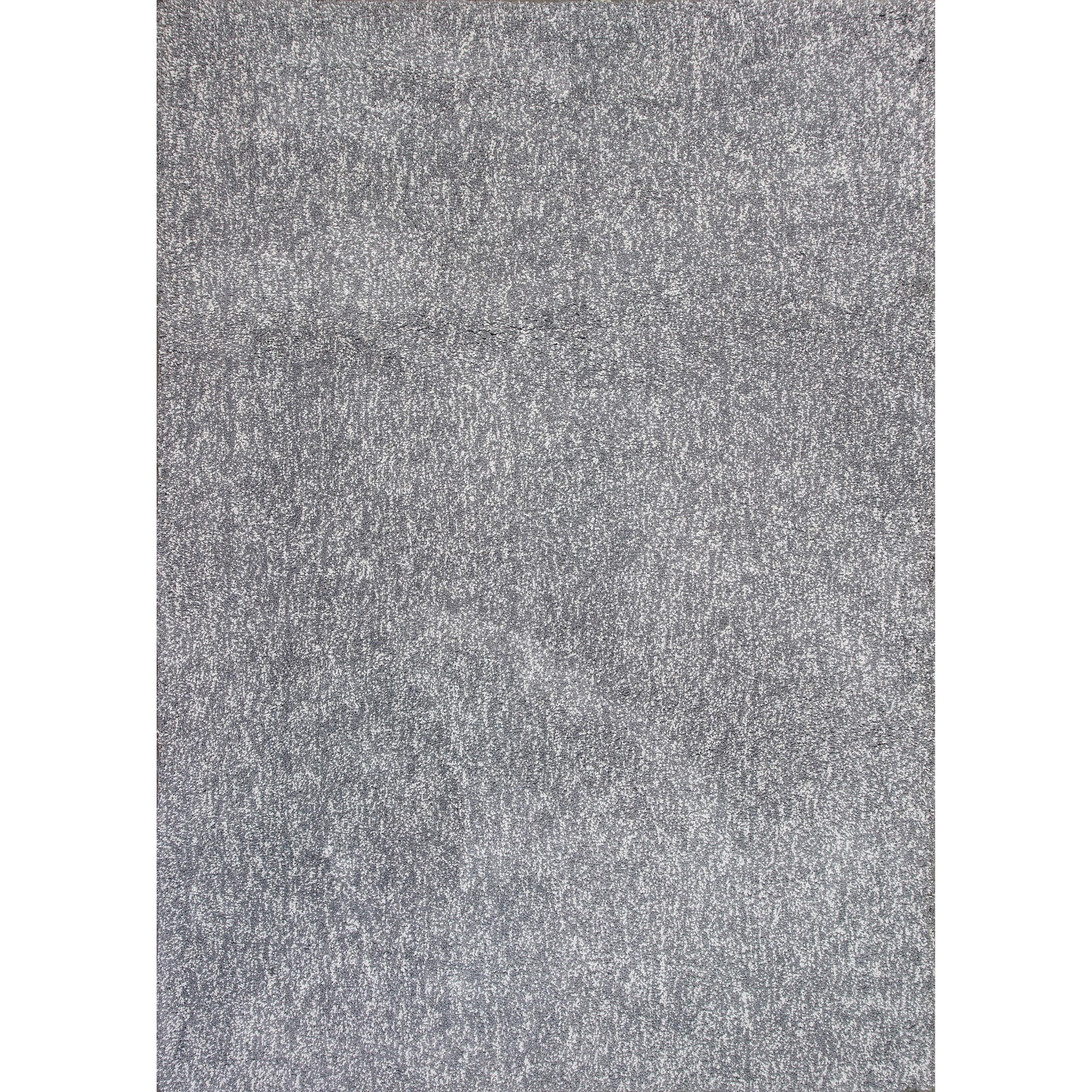 """7'6"""" X 9'6"""" Grey Heather Shag Area Rug"""