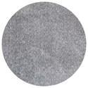 Kas Bliss 8' X 8' Grey Heather Shag Area Rug - Item Number: BLI15858X8RO