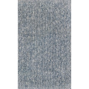 "Kas Bliss 2'3"" X 3'9"" Slate Heather Shag Area Rug"