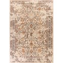 "Kas Bob Mackie Home Vintage 3'3"" X 4'11"" Sand Marrakesh Area Rug - Item Number: BMV130933X411"