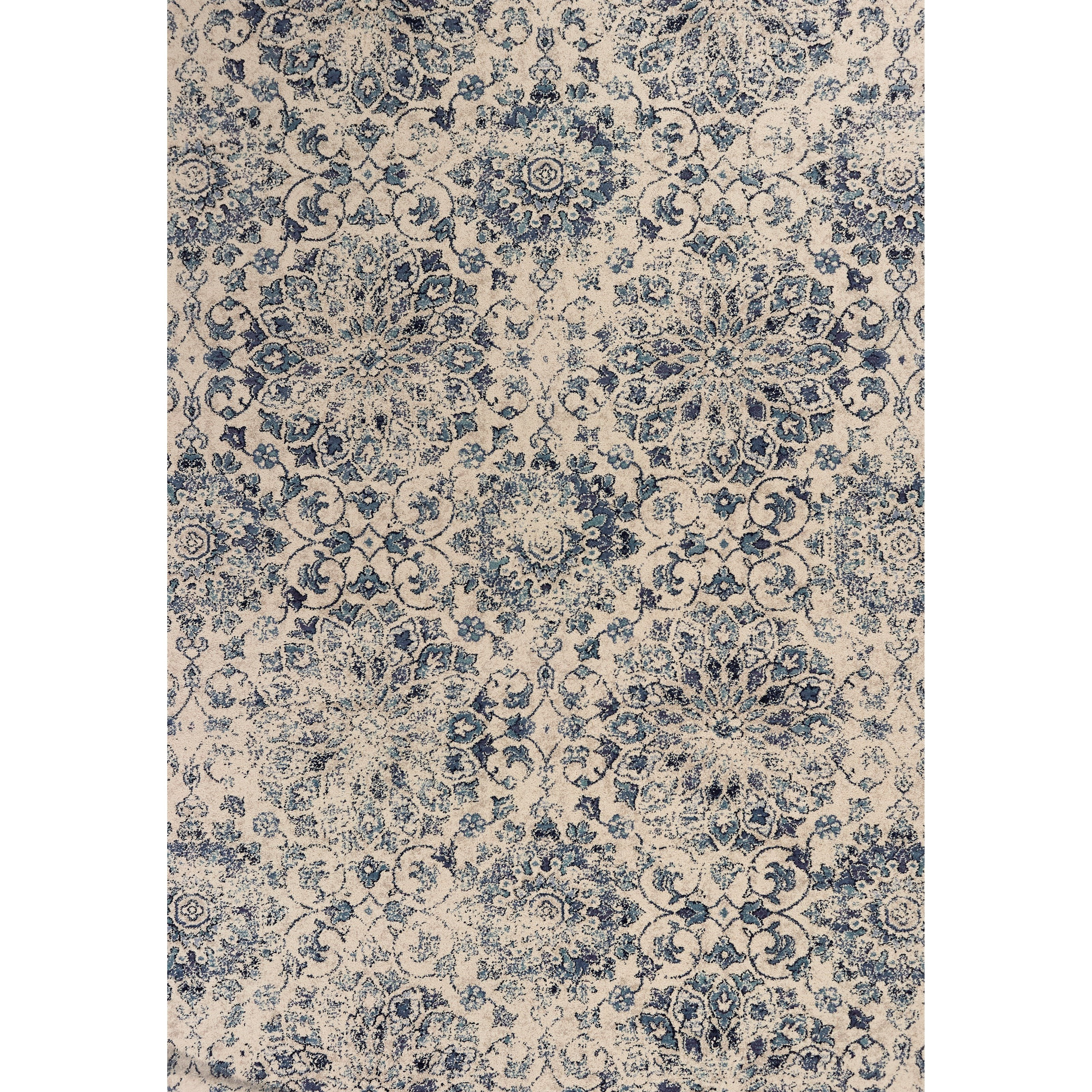 """Bob Mackie Home Vintage 4'11"""" X 3'3"""" Area Rug by Kas at Zak's Home"""